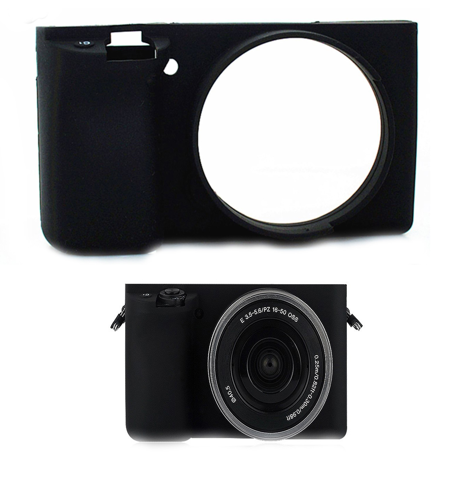 Item Case SILICONE CASE for SONY Alpha A6000