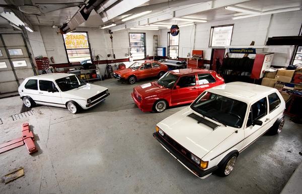 Наружные зеркала Хром VW Golf 1/Caddy1/Jetta1 изображение 6