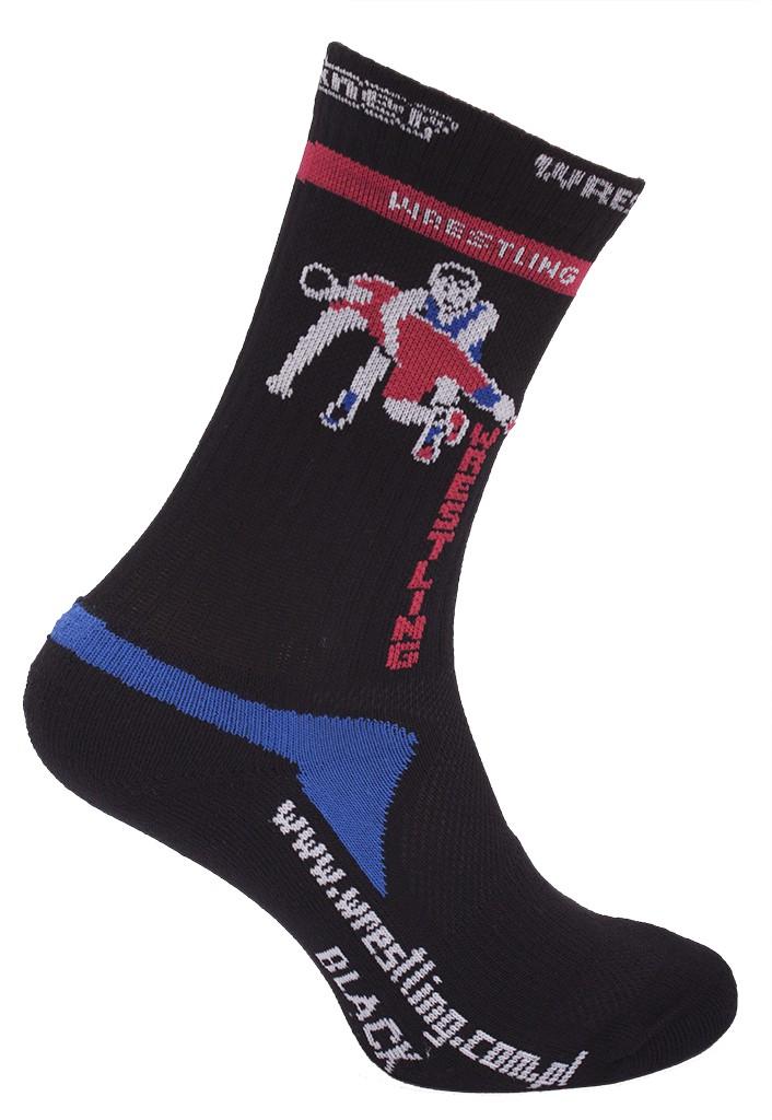 Zápasové ponožky Berkner Black-36-38