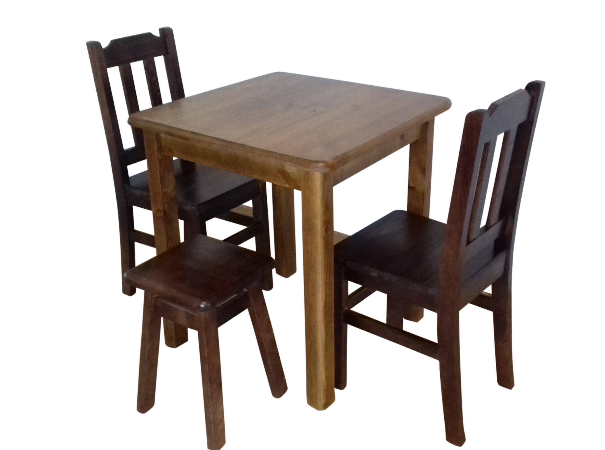 MASÍVNE kuchynský stôl 65x65 HOTEL pub, jedáleň, bar