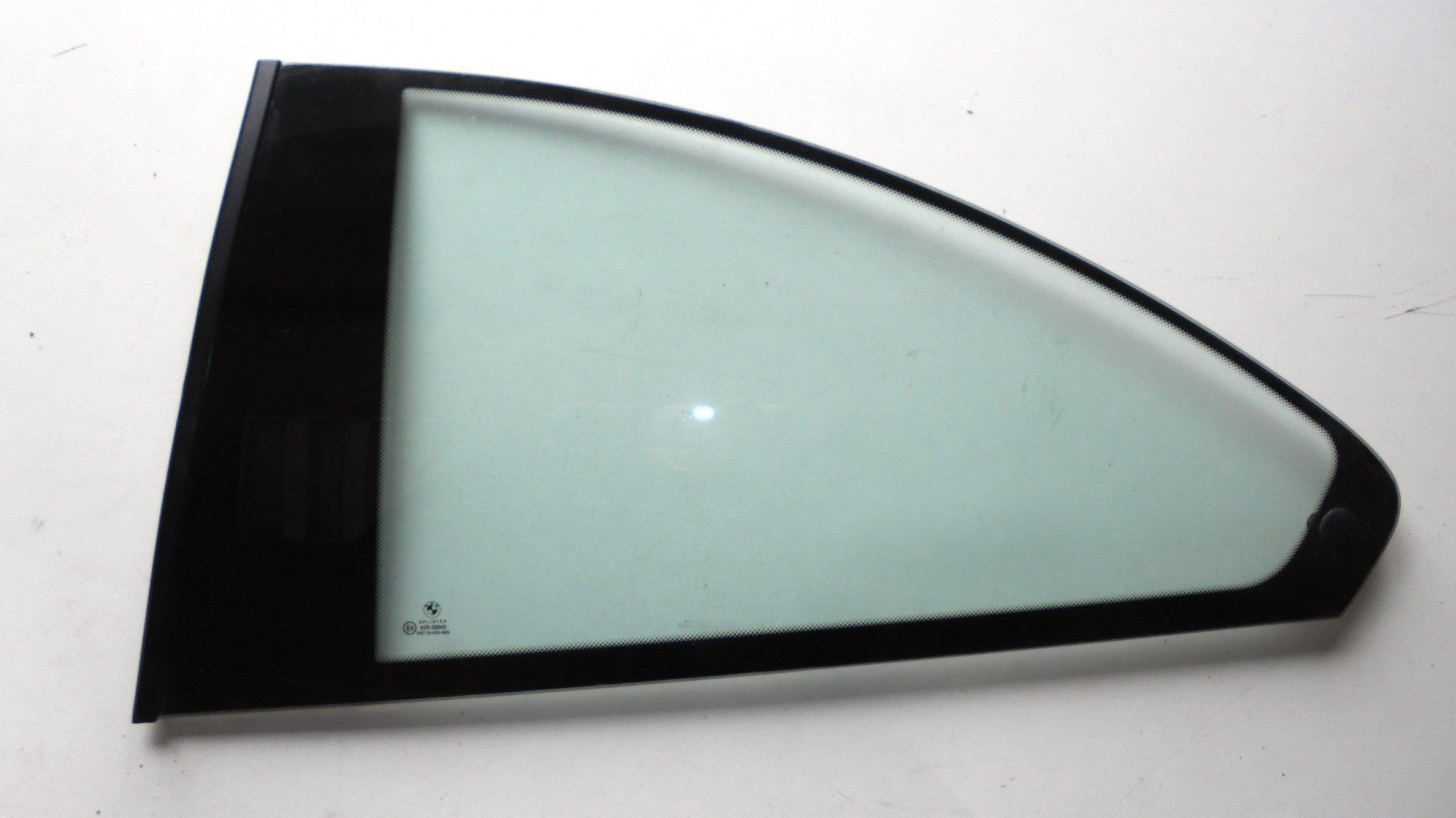 bmw e46 купе стекло боковая поворотная сзади слева
