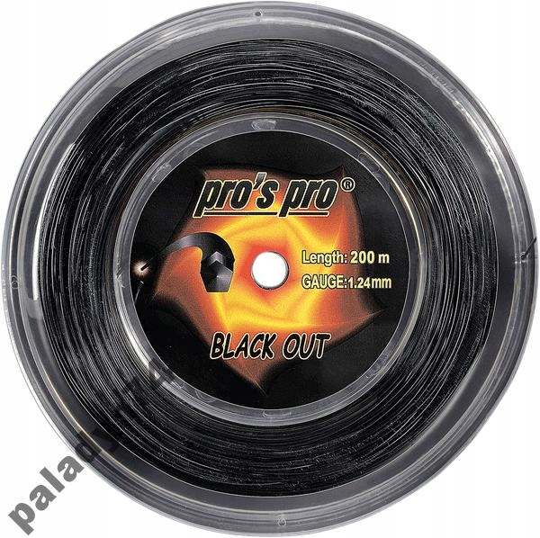 PRO ' s PRO BLACK OUT topspinowy, 1.24 mm, 1,28 mm