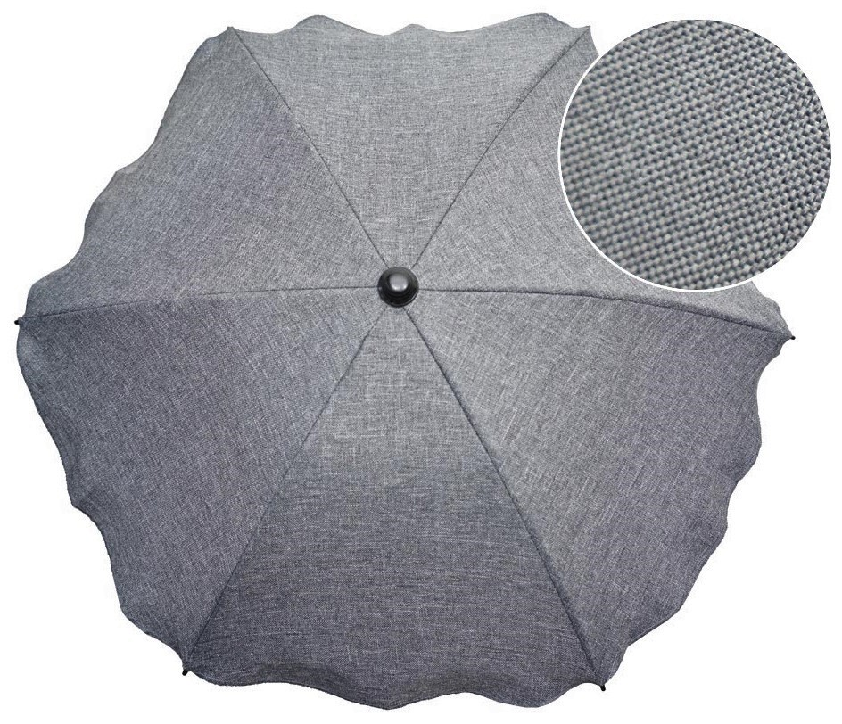 Item UMBRELLA FOR ANY PRAM - MATERIAL FLAX, MELANGE