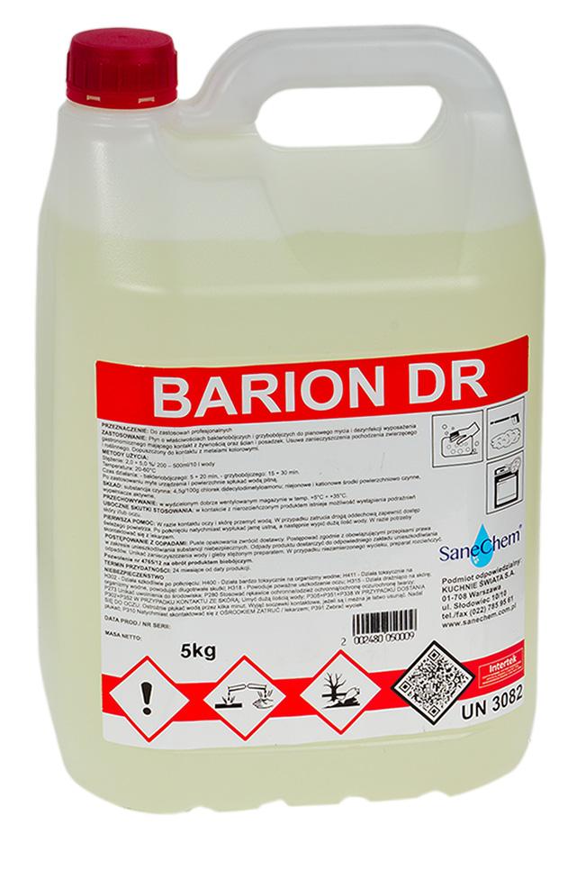 Стирка и дезинфекция 2in1 Barion DR SaneChem 5кг