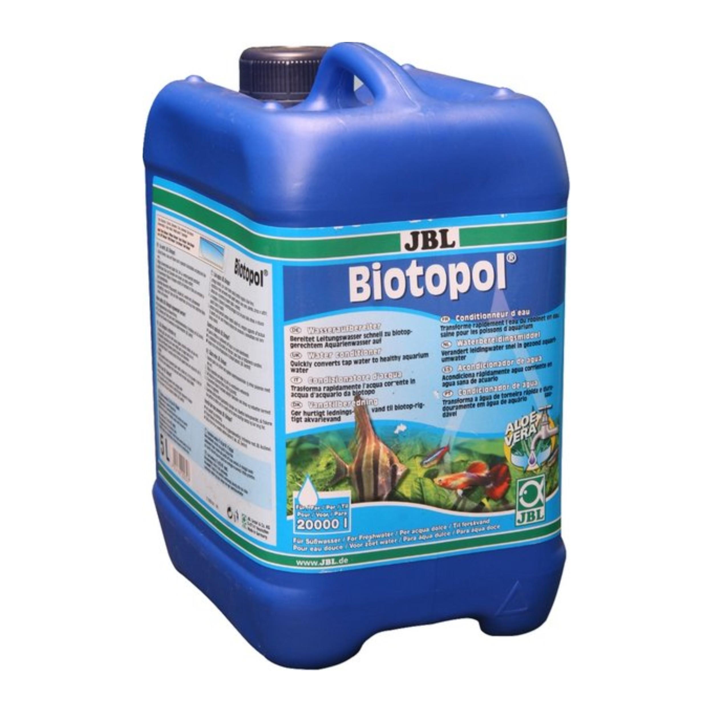 JBL BIOTOPOL 500 мл/2000L. Следования. Antychlór