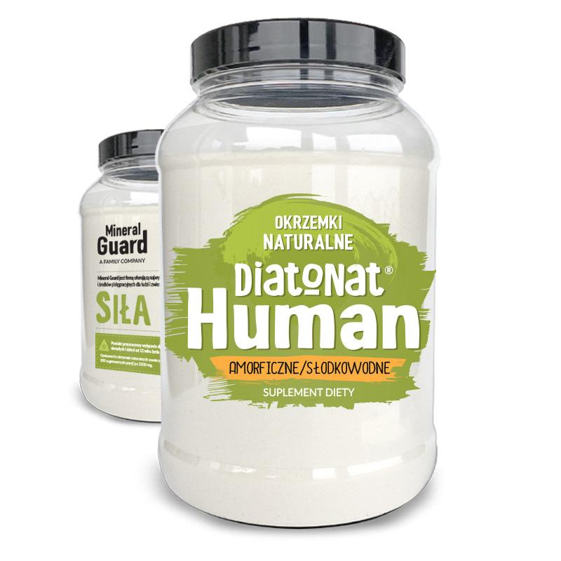Ziemia Okrzemkowa DiatoNat Human 200g suplement