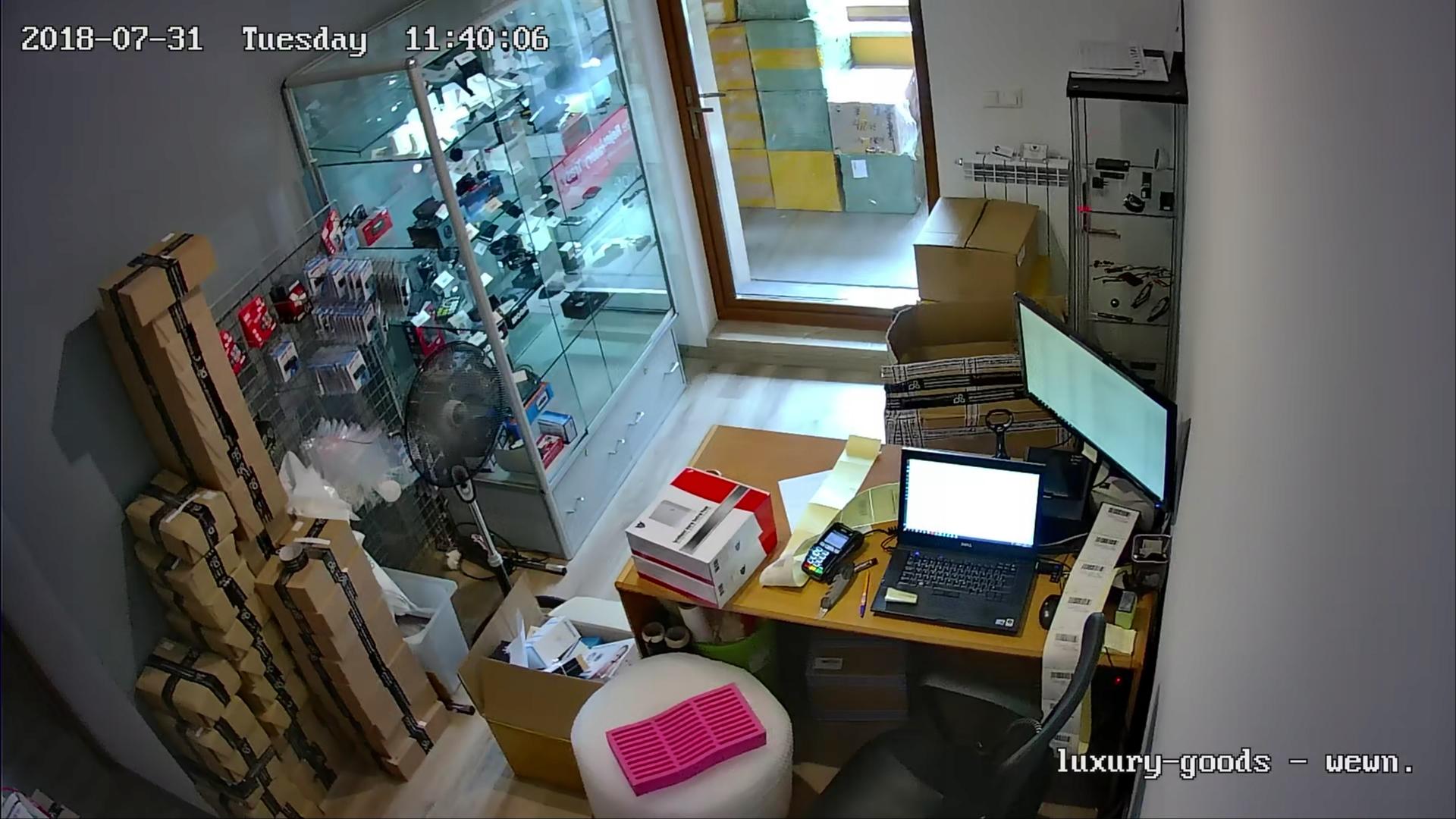 2x FULL HD SONY MONITORING H265+ NVR POE WDR IR Pojemność zainstalowanego dysku 0 TB