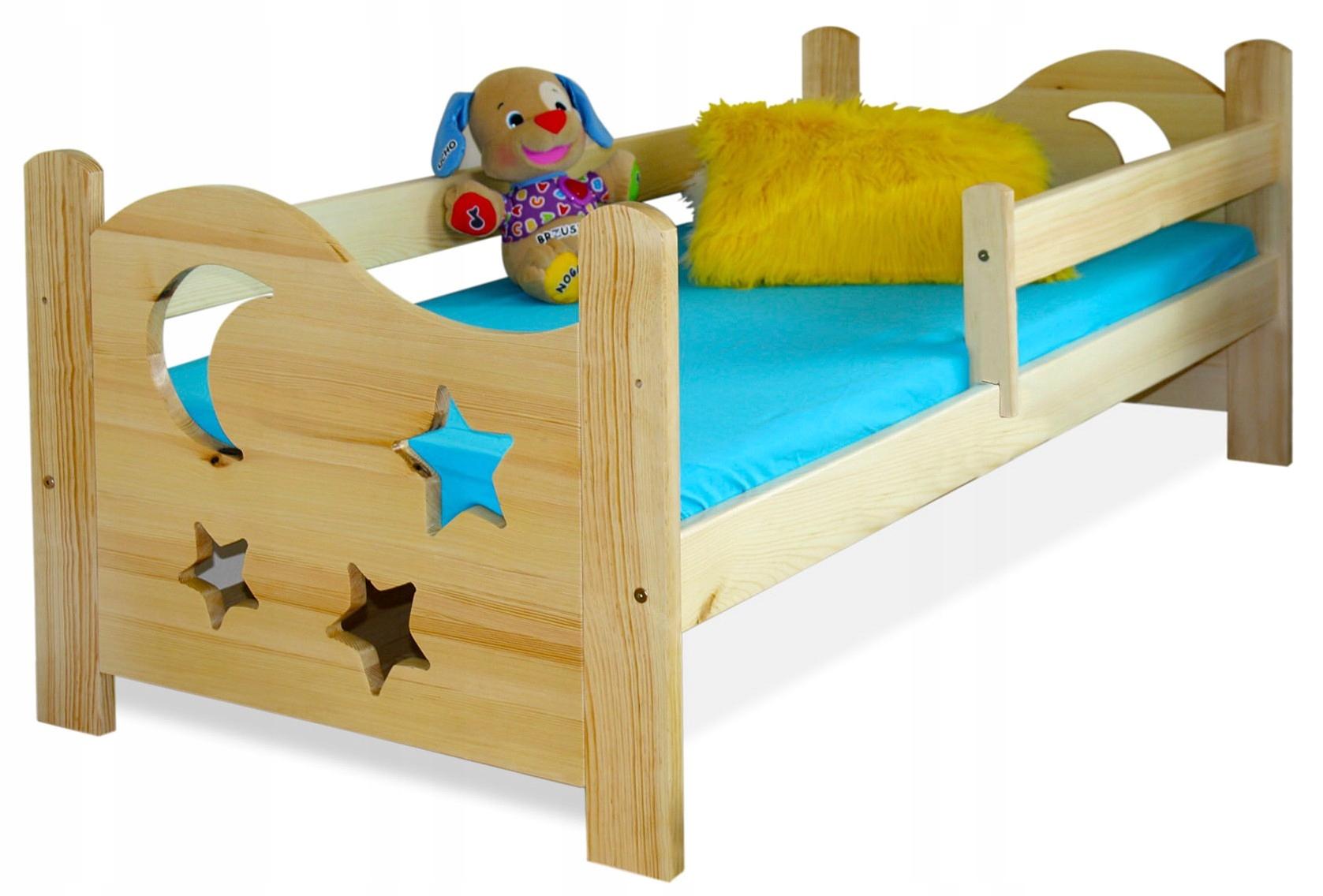 Deti, prístelky 70x160 EGOR posteľ borovica