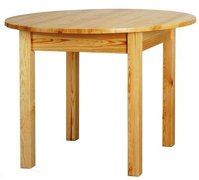 Pevný okrúhly stôl dia. 60 cm, kuchyňa, jedáleň, bar