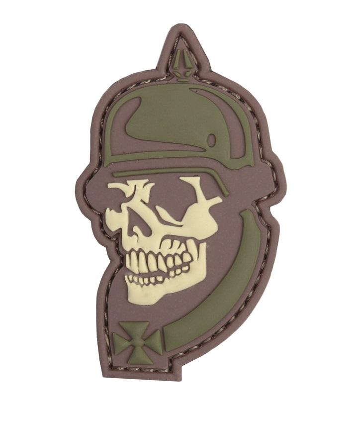 Stripe 1914 Soldier Skull 3D PVC 101 Inc. Multicín