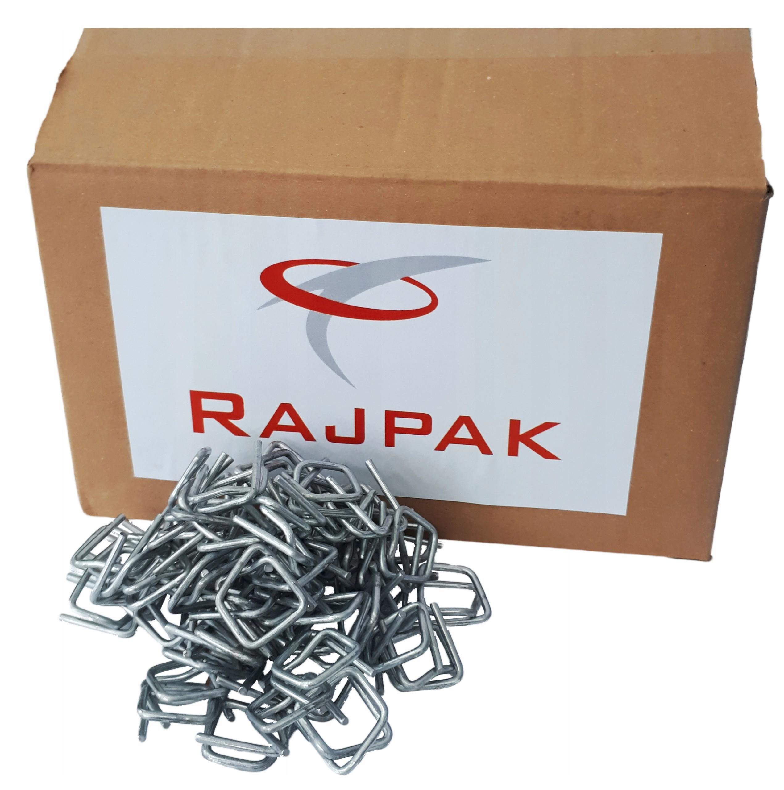 Купить Пряжки проволочные для ленты ПП RAJPAK 16 мм 1000шт. на Otpravka - цены и фото - доставка из Польши и стран Европы в Украину.