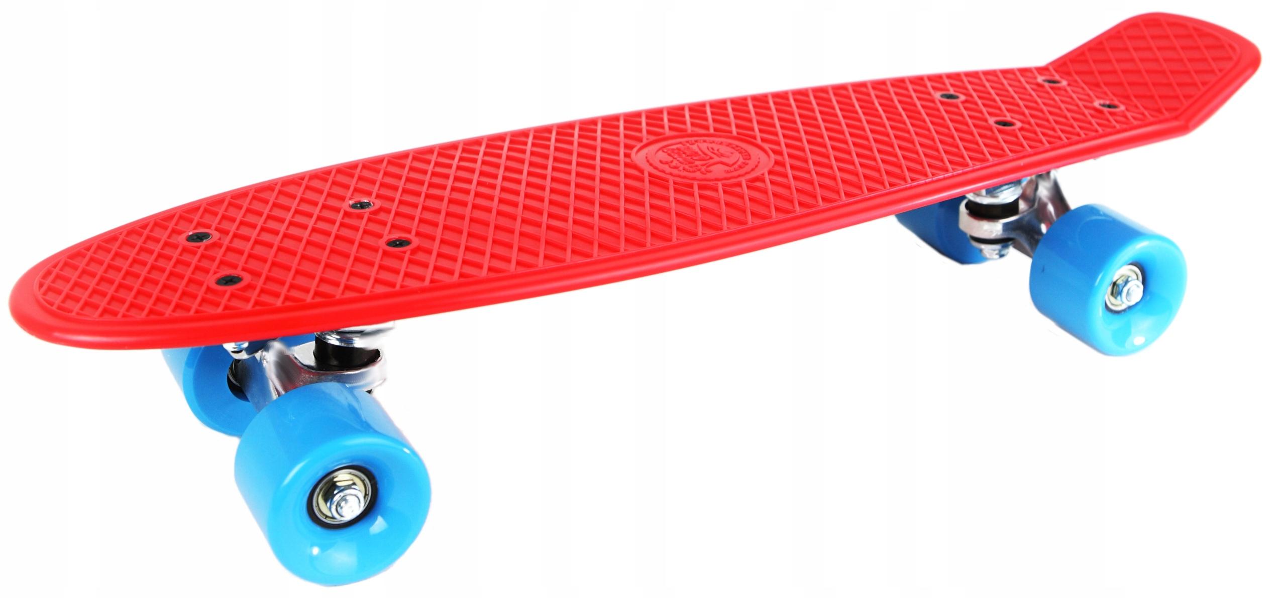 Skateboard Flashle Modi Pique Red Blue