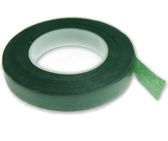 Item ADHESIVE TAPE floristry wholesalers GREEN - 13 mm 27,4 m