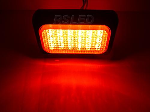 ЛАМПА 18 LED Сигнализация Предупреждающие МОЩНОСТЬ 12V 24V изображение 2