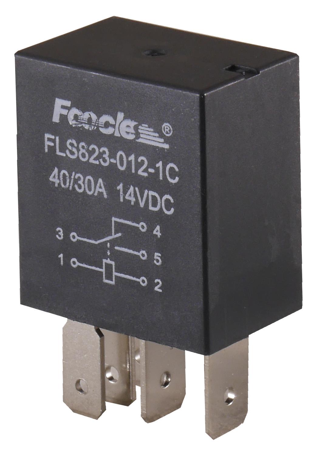 блок автомобильный 12v 40a 5 pin-код разомкнутый контакт микро