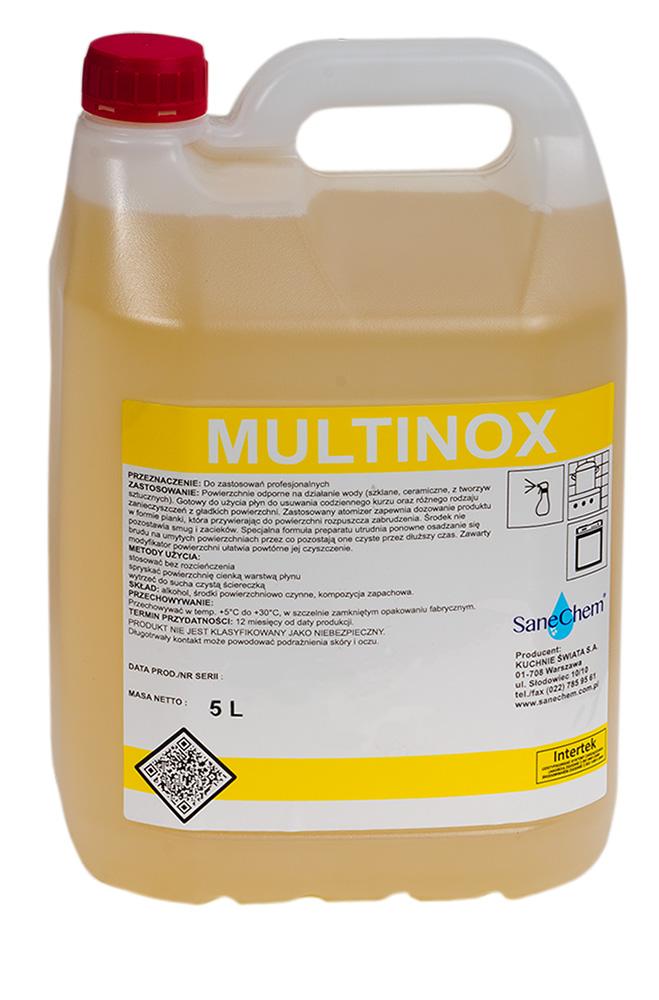 Чистящая жидкость HoReCa MULTINOX SaneChem 5кг