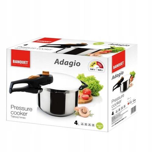 Szybkowar 4l Adagio Banquet Indukcja Garnek Parowy 7619942517 Allegro Pl