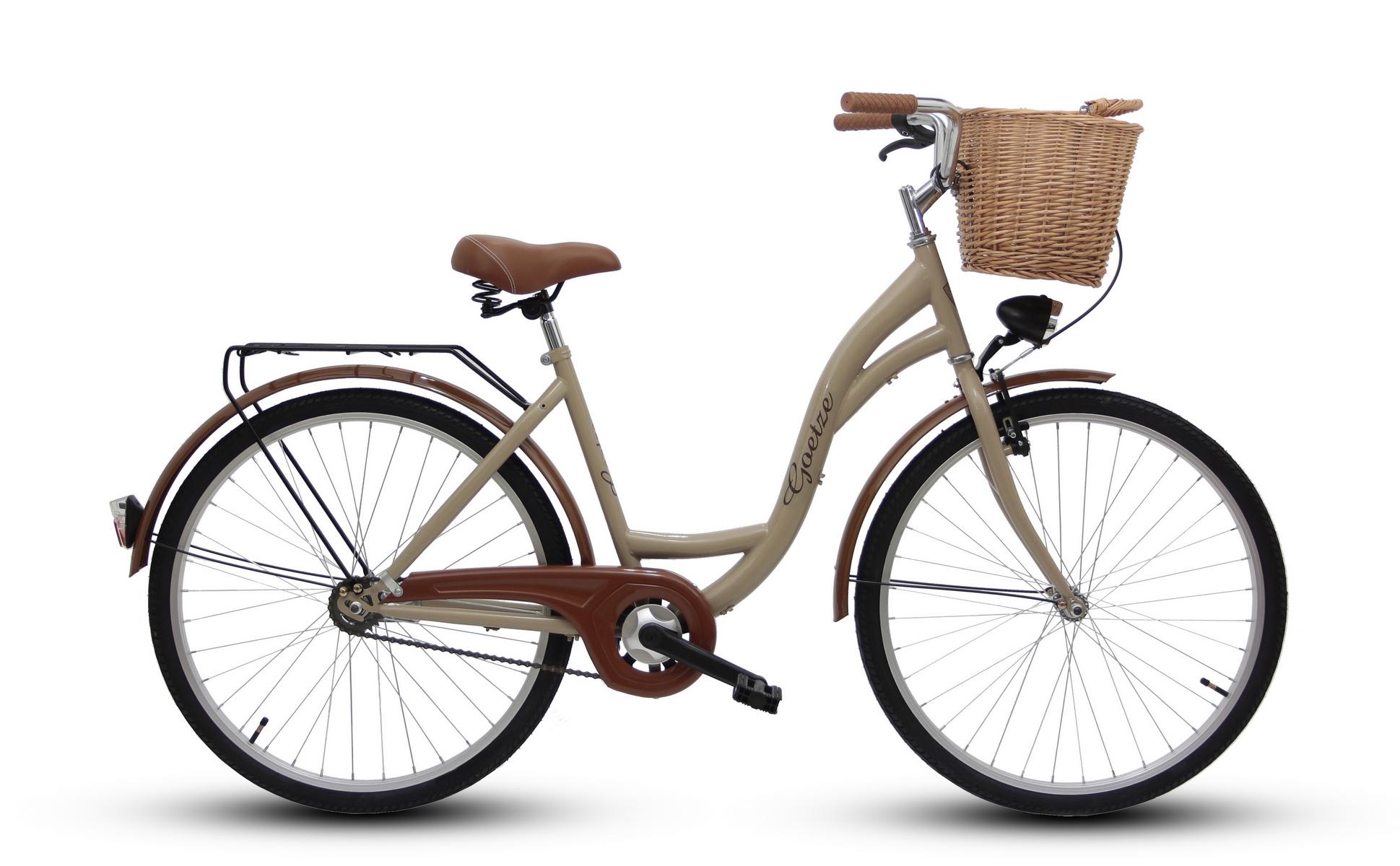 Dámsky mestský bicykel GOETZE 26 eco lady + košík !!!  Farba iná