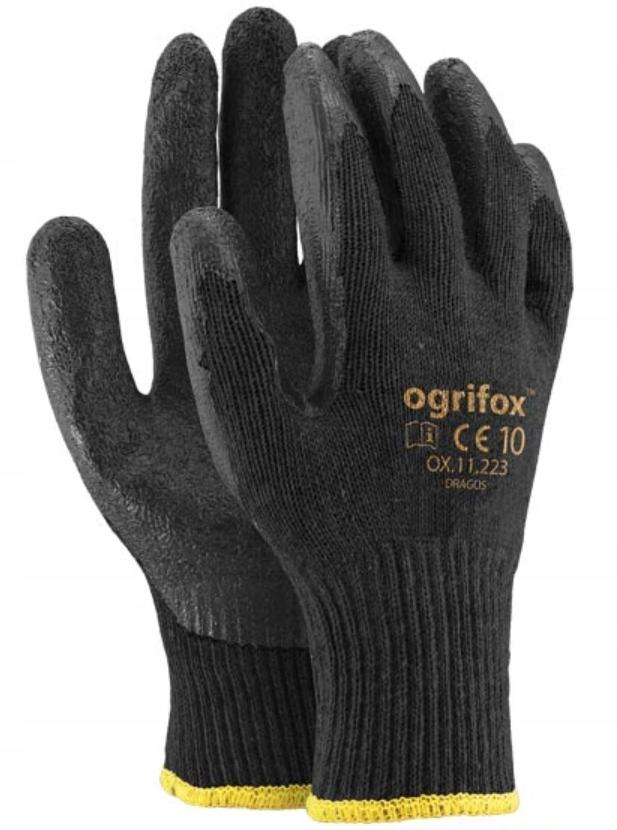12 ПАР ПЕРЧАТКИ перчатки рабочие сильные DRAGOS OX