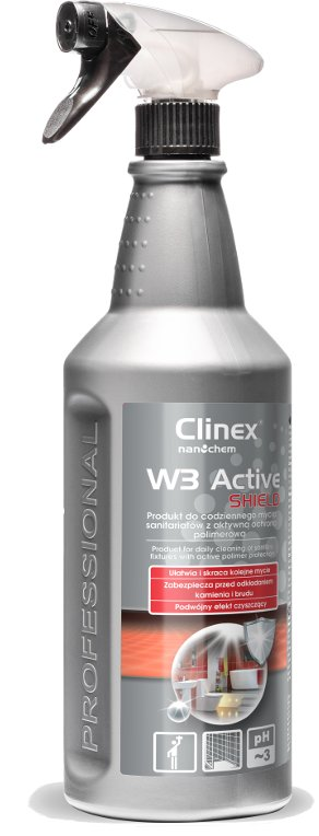 CLINEX Active Shield жидкость для мытья ванных комнат кабины