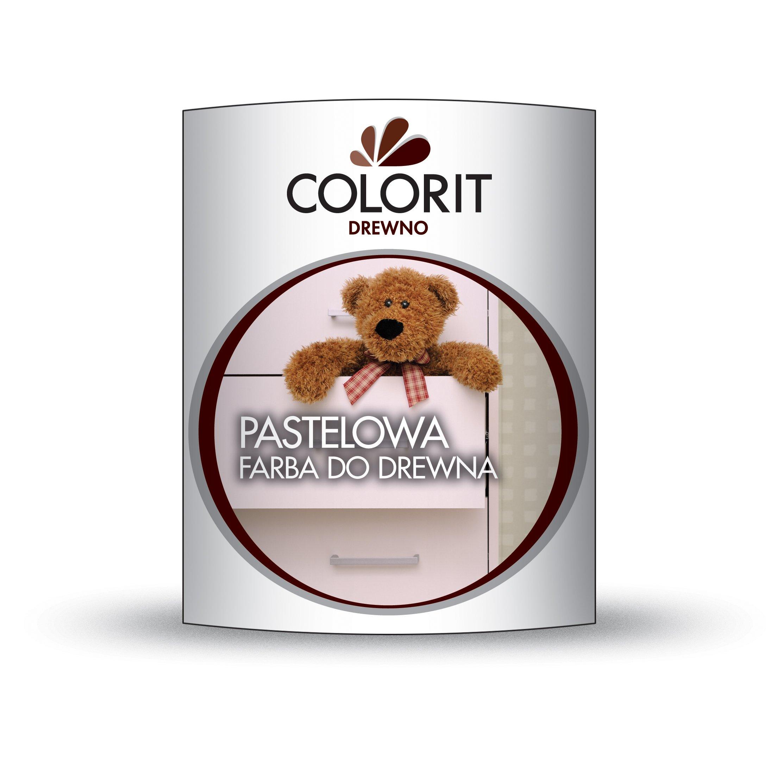 Poważnie Pastelowa farba do drewna COLORIT 750 ml SZAROŚĆ 5761233763 OM43