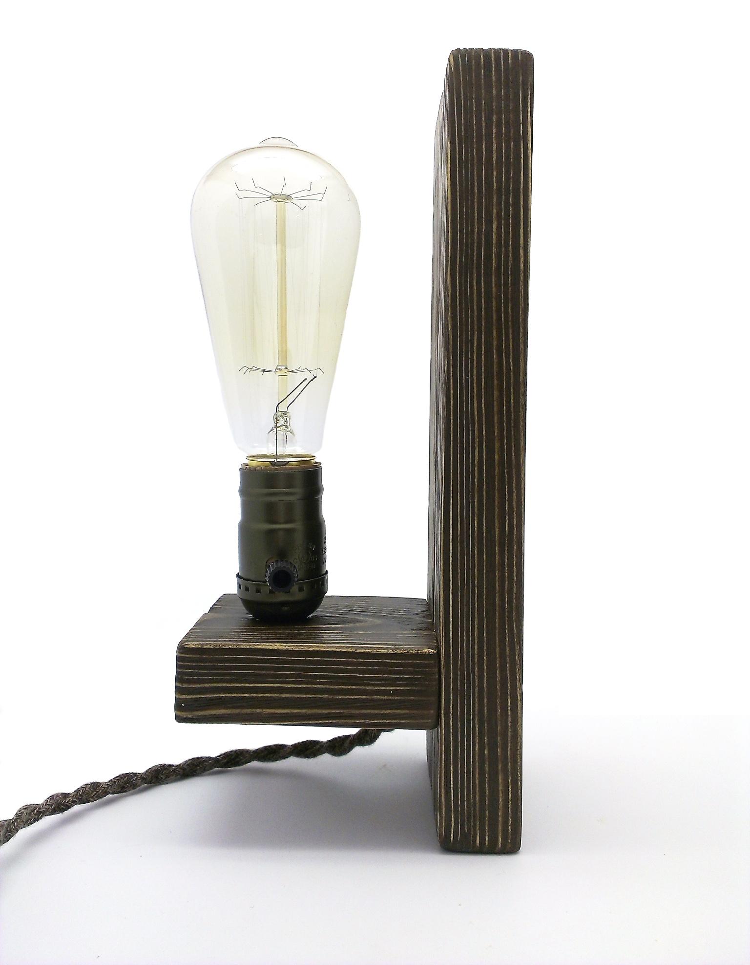 LAMPA KP1 EDISON VINTAGE STENU SCONCE