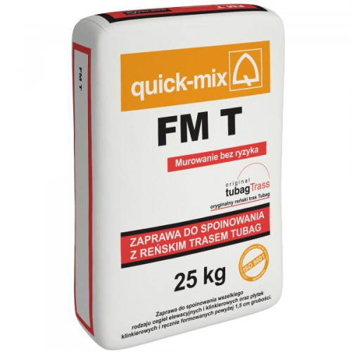 FM T biała zaprawa do spoin 25kg QUICK-MIX