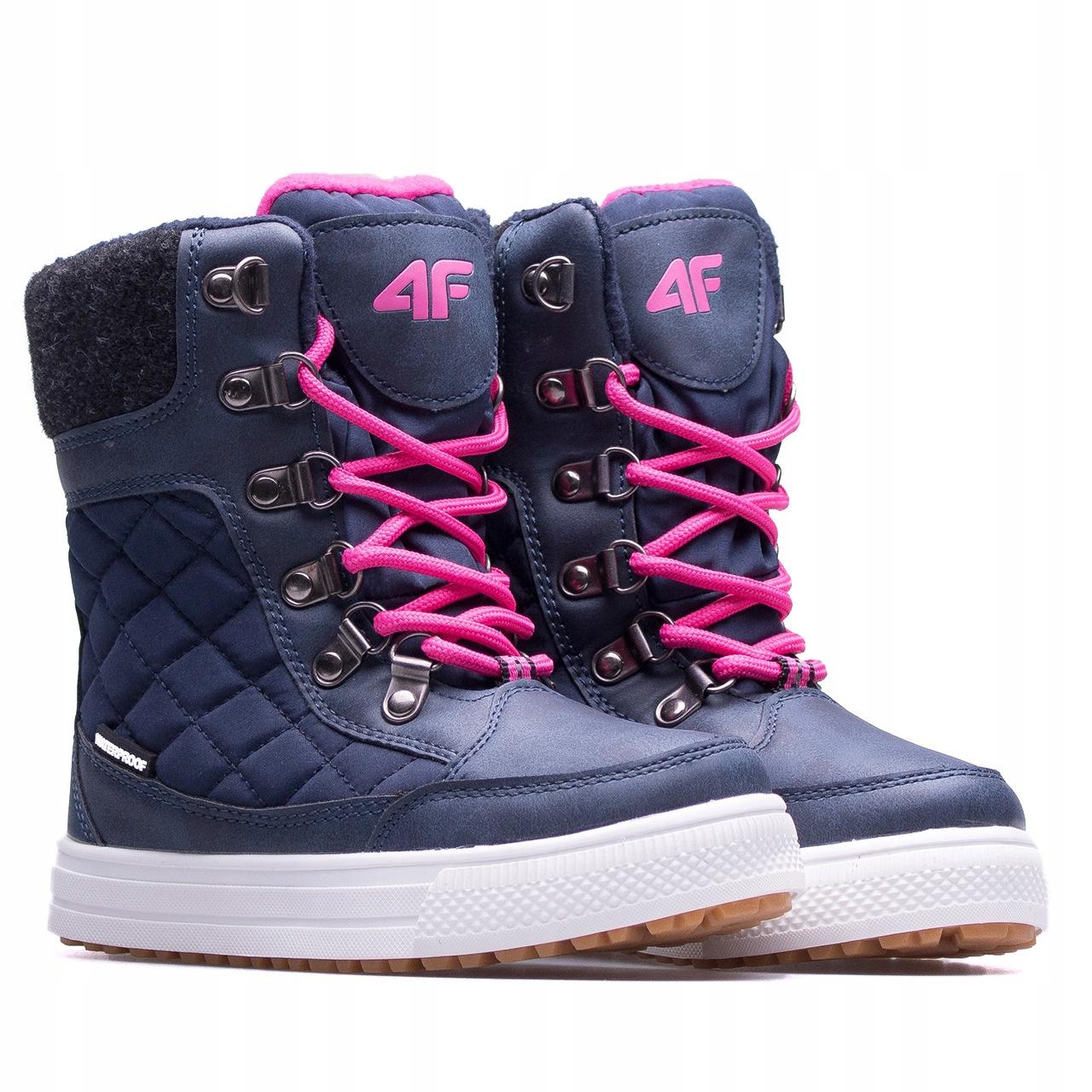 Детская зимняя обувь 4F Z17-JOBDW301-2129, 30