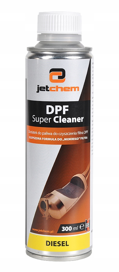 JETCHEM DPF Super Cleaner dodatek do baku FAP/DPF