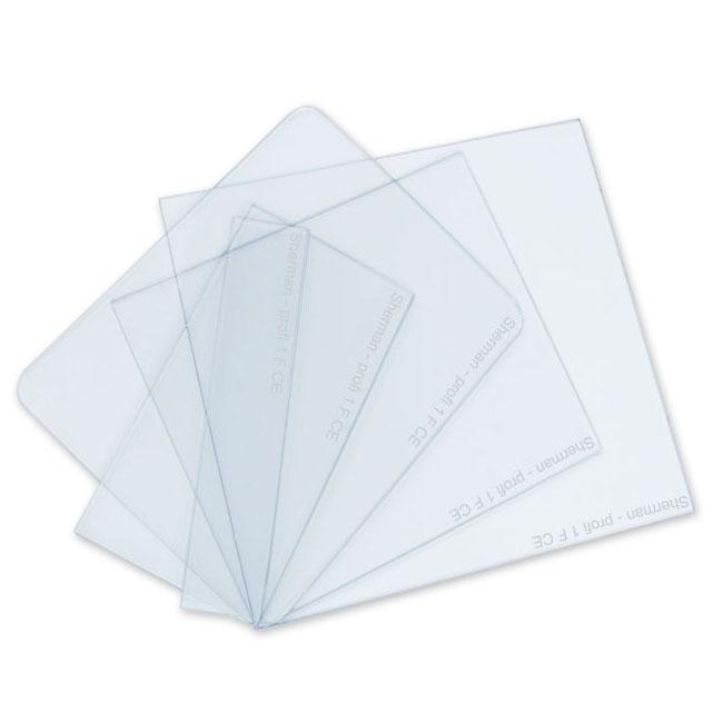 Rýchly polykarbonátový PVC filter pre masku 95x110