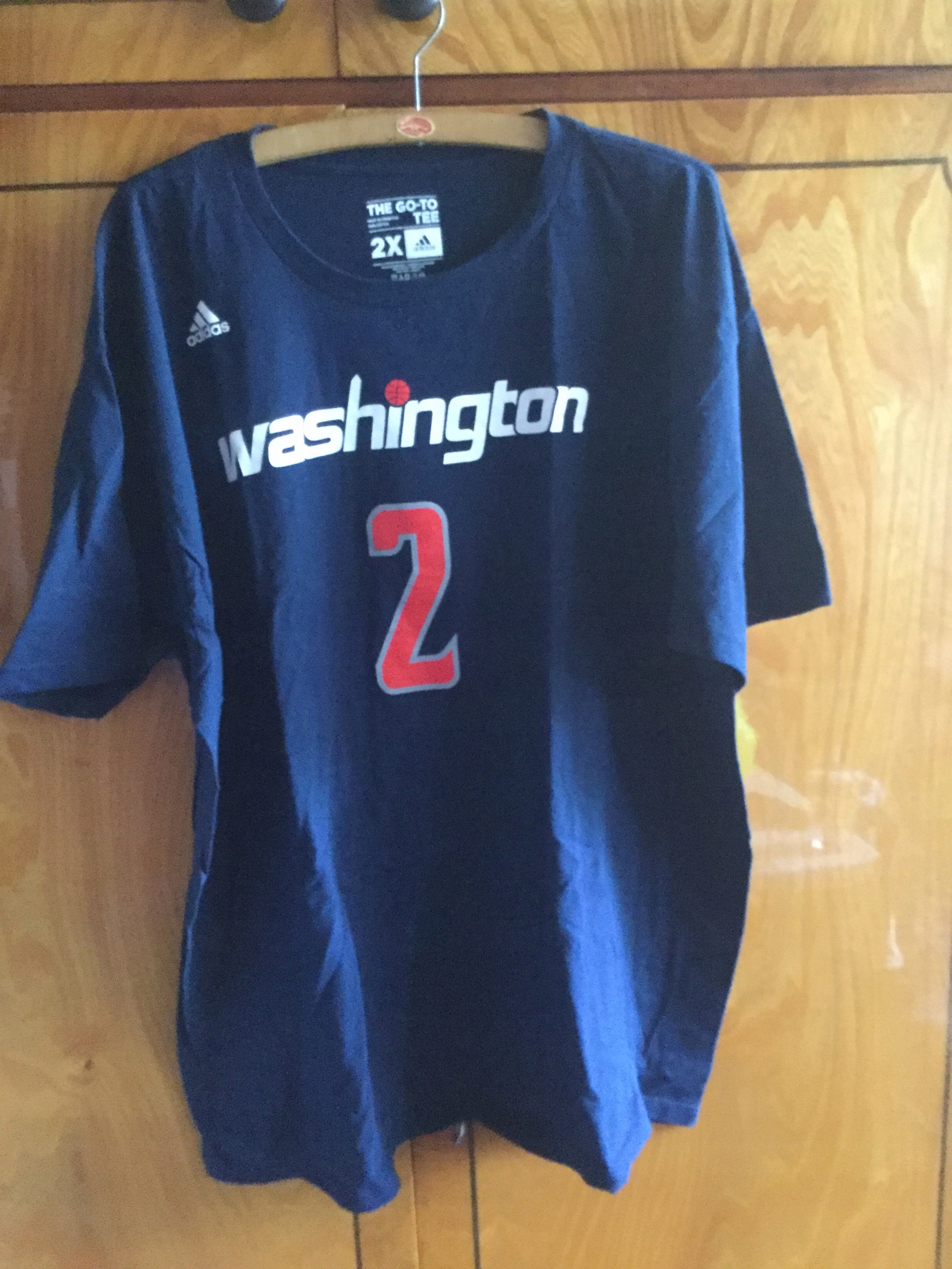 WASHINGTON WIZARDS NBA JOHN WALL-2XL