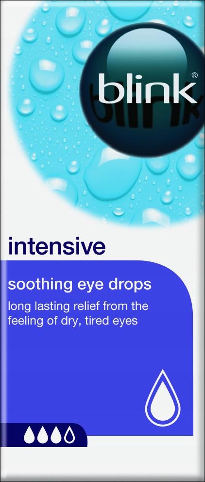 Krople do oczu nawilżające Blink Intensive 10 ml