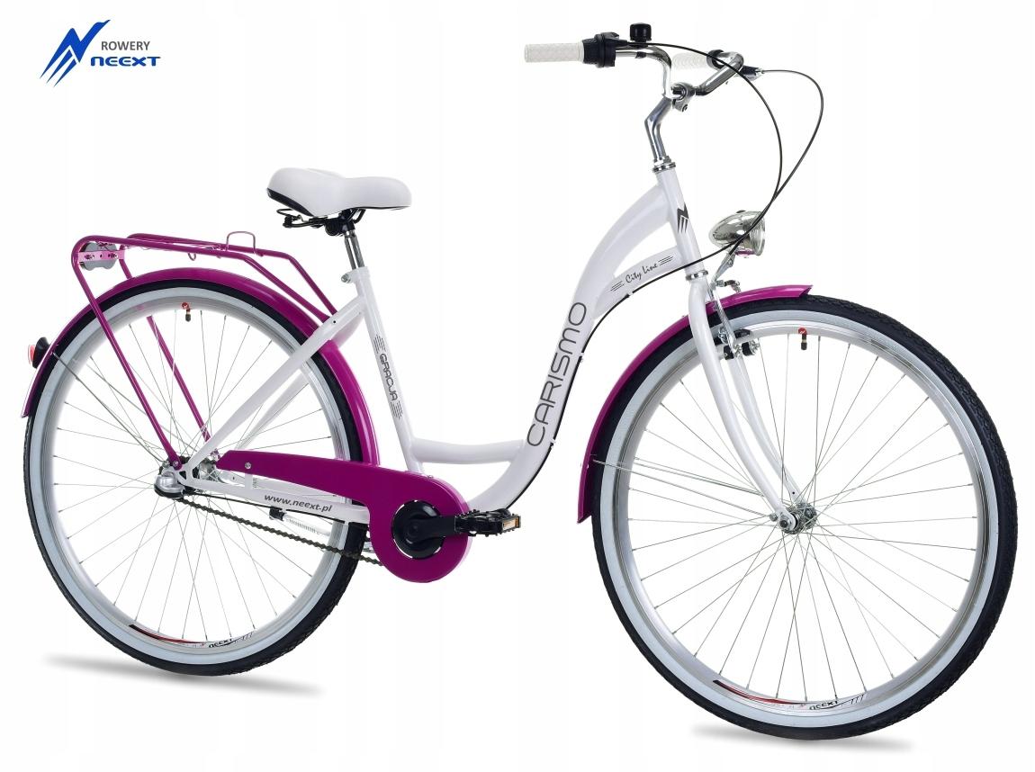 "Dámsky mestský bicykel 28 GRACJA s 3 prevodmi Holandský rozmer kolies ("") 28"