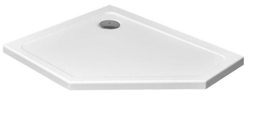 5-hranná sprchová vanička Dlaždice Doros PT E 100x80 RADAWAY