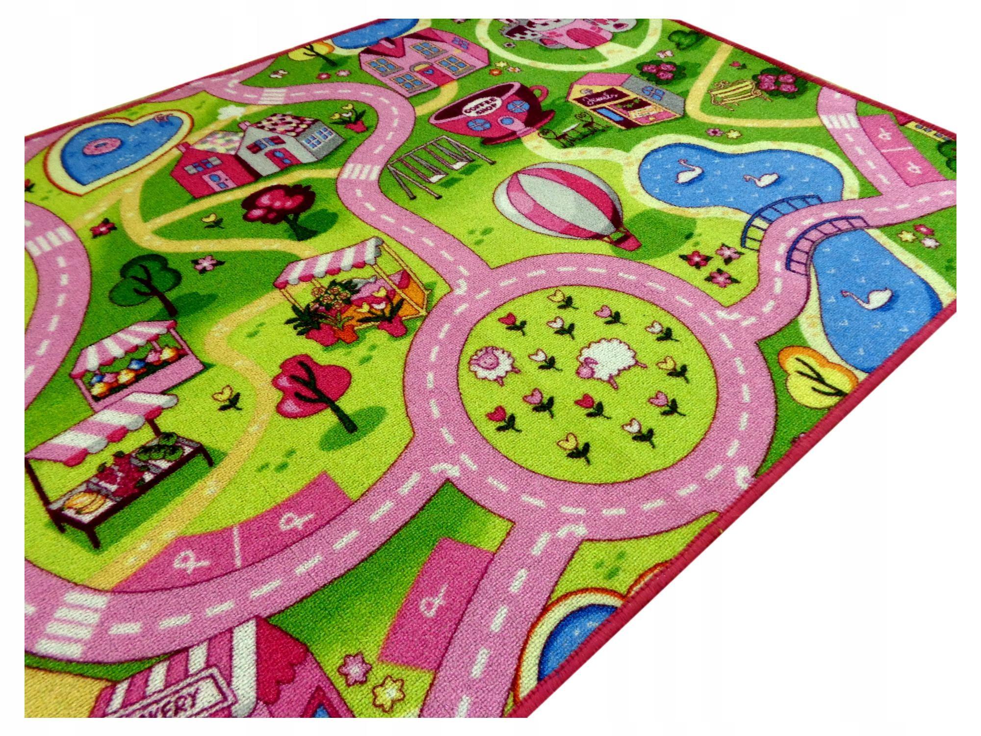 Dywan Dla Dziewczynki Chłopca Ulice Drogi 250x280