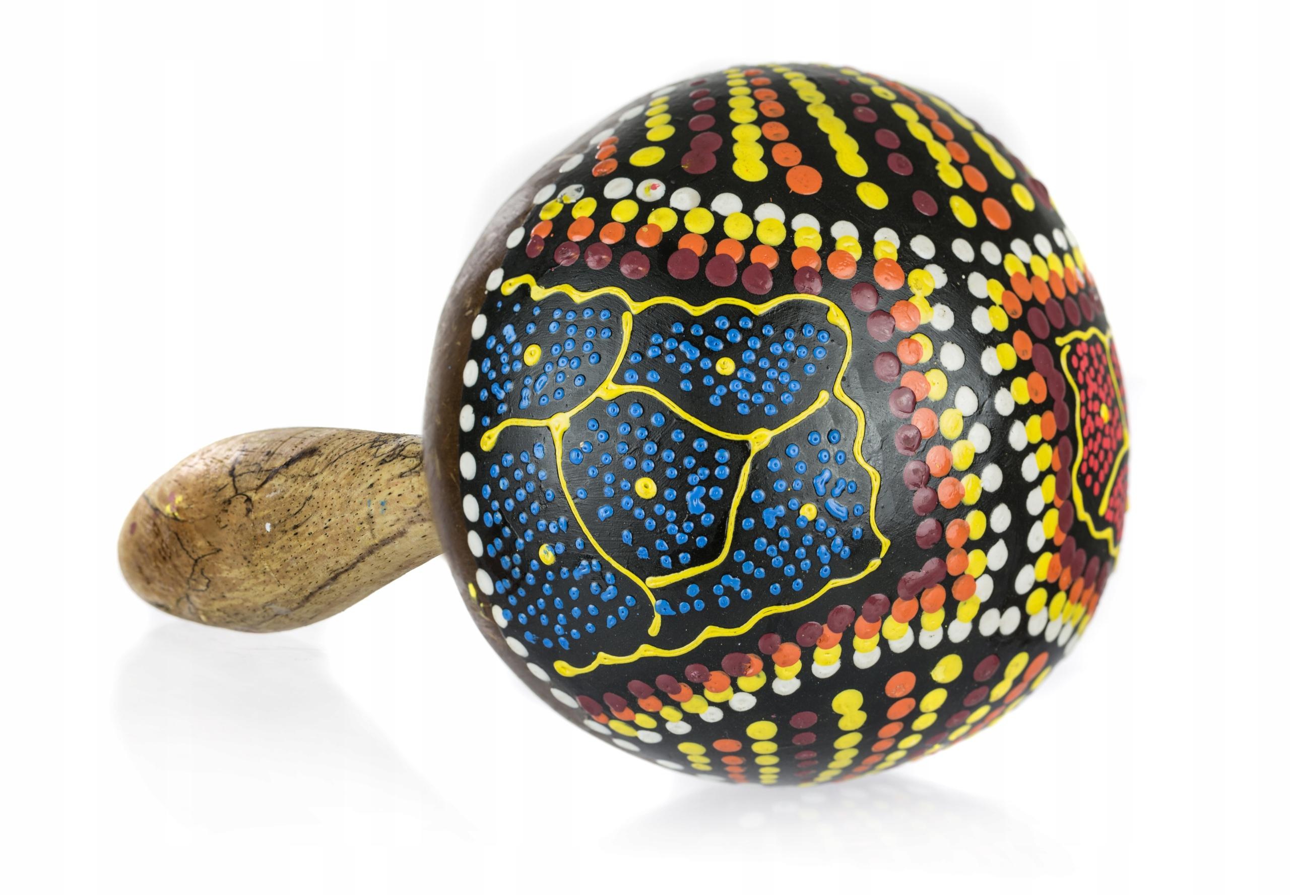 Maracas orientálny nástroj marakas rachot