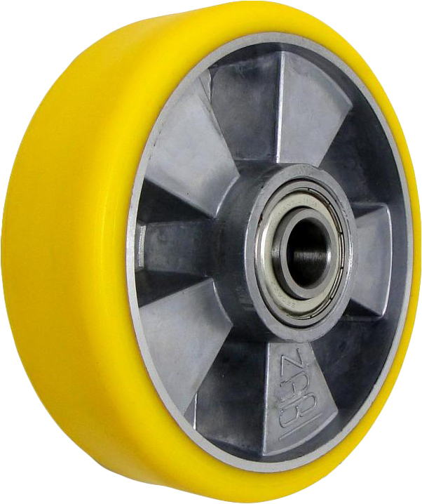 Kruh FI 150MM Hliníkový polyuretán 400KG 20mm
