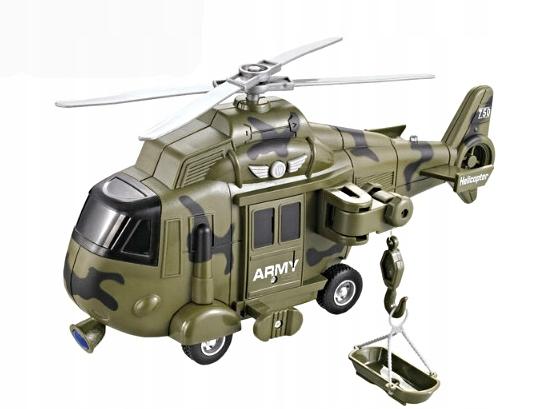 Svetelný zvuk vojenského vrtuľníka 1H