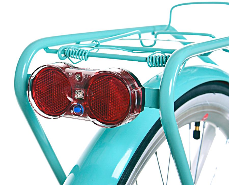 Dámsky mestský bicykel 28 GRACJA 3 stupne holandskej viacfarebnej farby