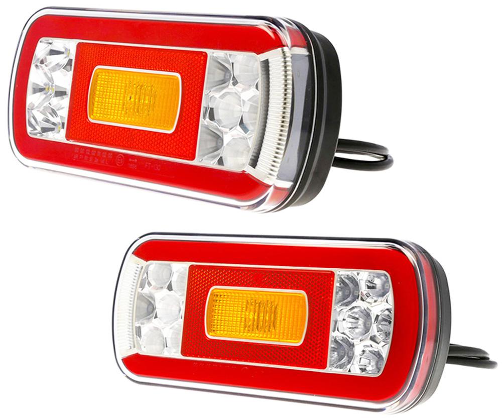 Задний фонарь Экскаватор Forklift JCB 12 / 24V Leda