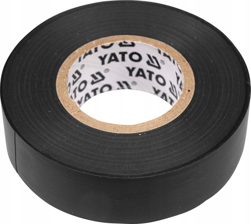 YATO - Лента изоляционная черная 19мм х 20м