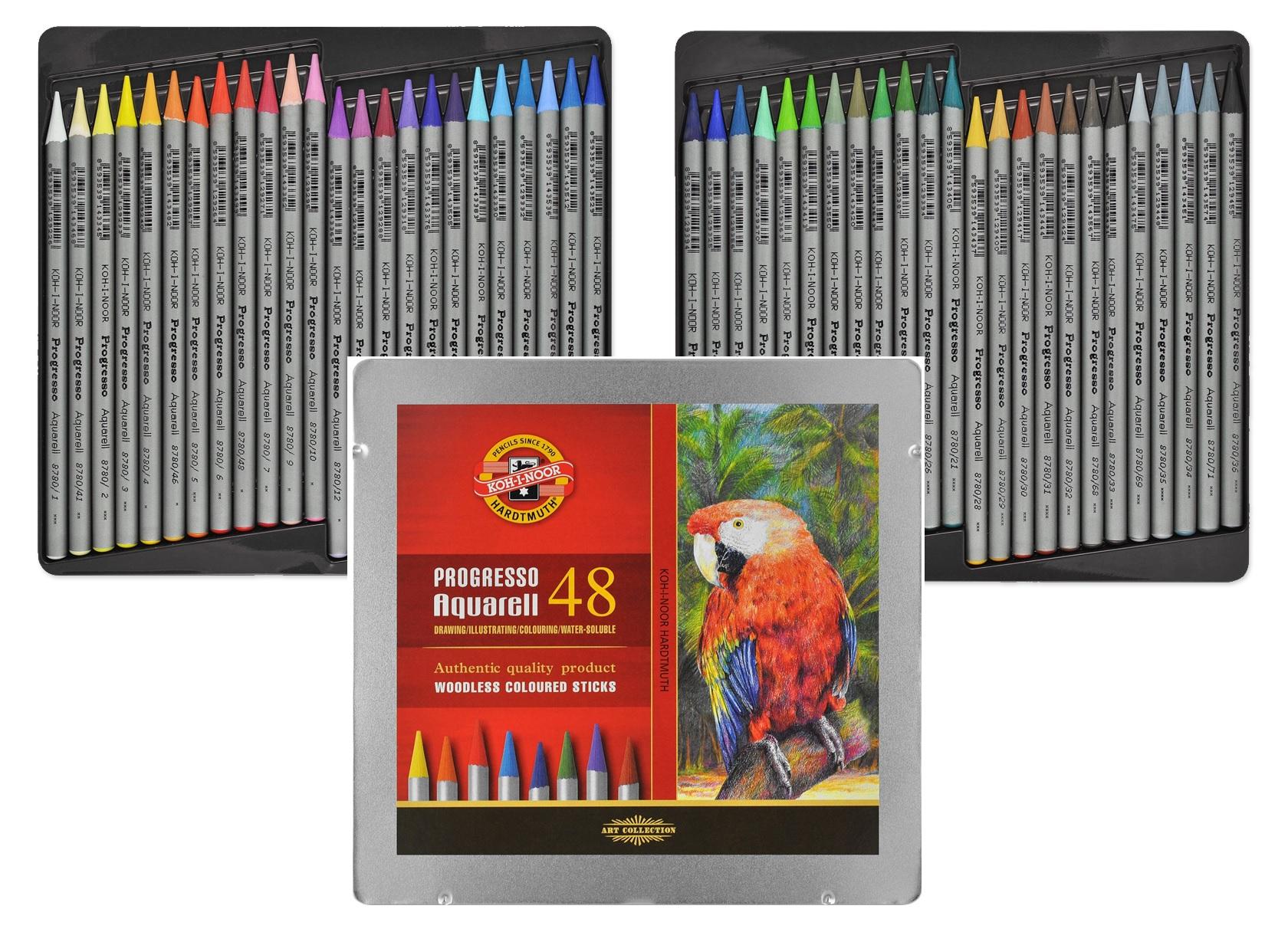 Ceruzky woodless KOH-I-NOOR PROGRESSO bol vyvinutý 48