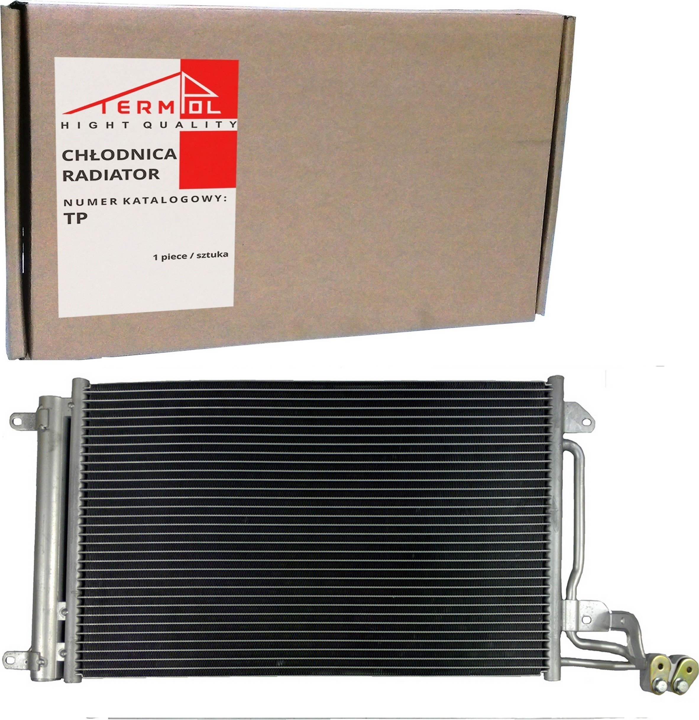 RADIATORIUS KONDICIONIERIUS SKODA RAPID VW POLO V 2009-