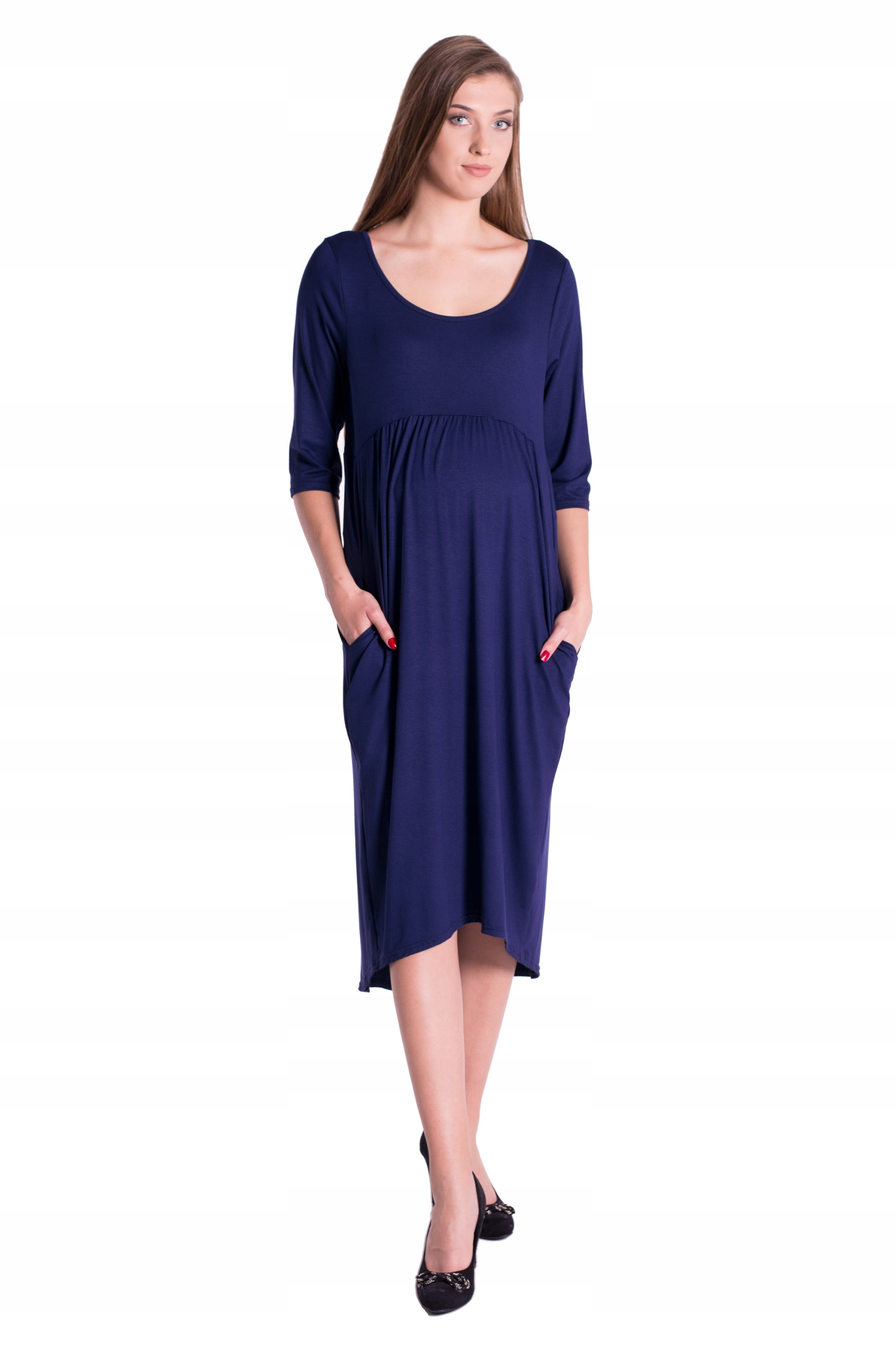 Materská šaty rozkloszowana Oasi 4409 M/L