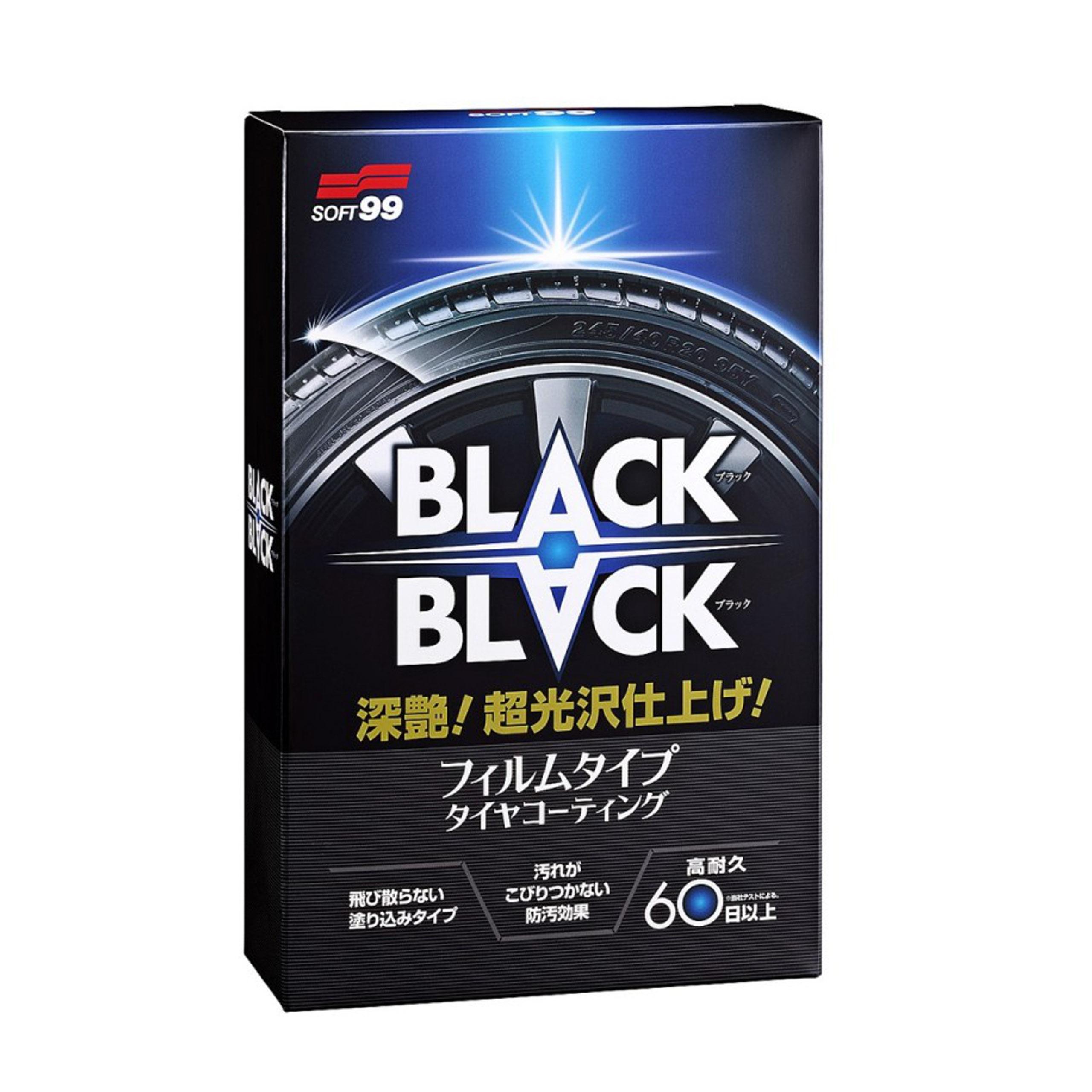 SOFT99 BLACK BLACK Środek do pielęgnacji opon