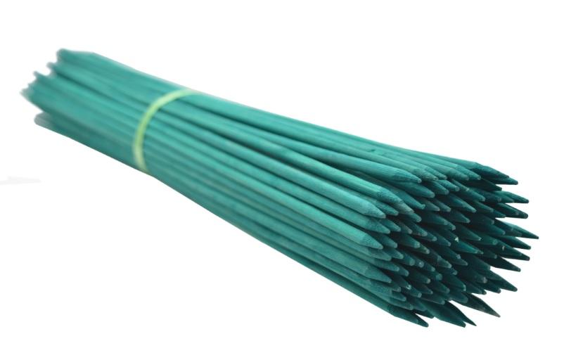Gombíky bambusu 50 cm, 5 /5.5 mm /2500szt/ zelená