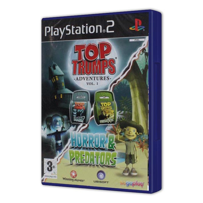 TOP TRUMPS HOROR & DRAVCE NOVÝ FILM PS2 !