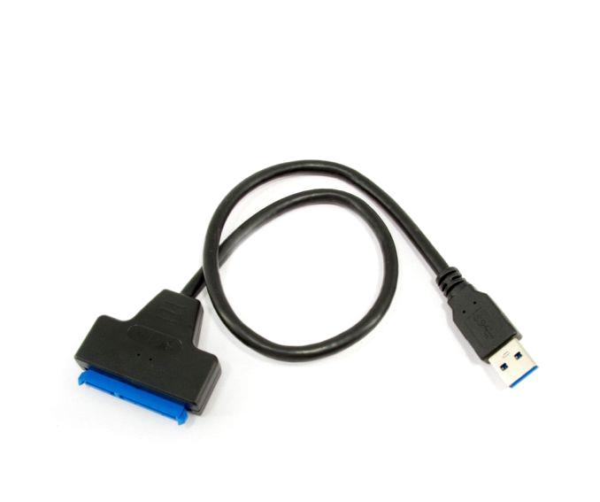 КАБЕЛЬНЫЙ АДАПТЕР USB 3.0 - ДИСК SATA 3 22 PIN