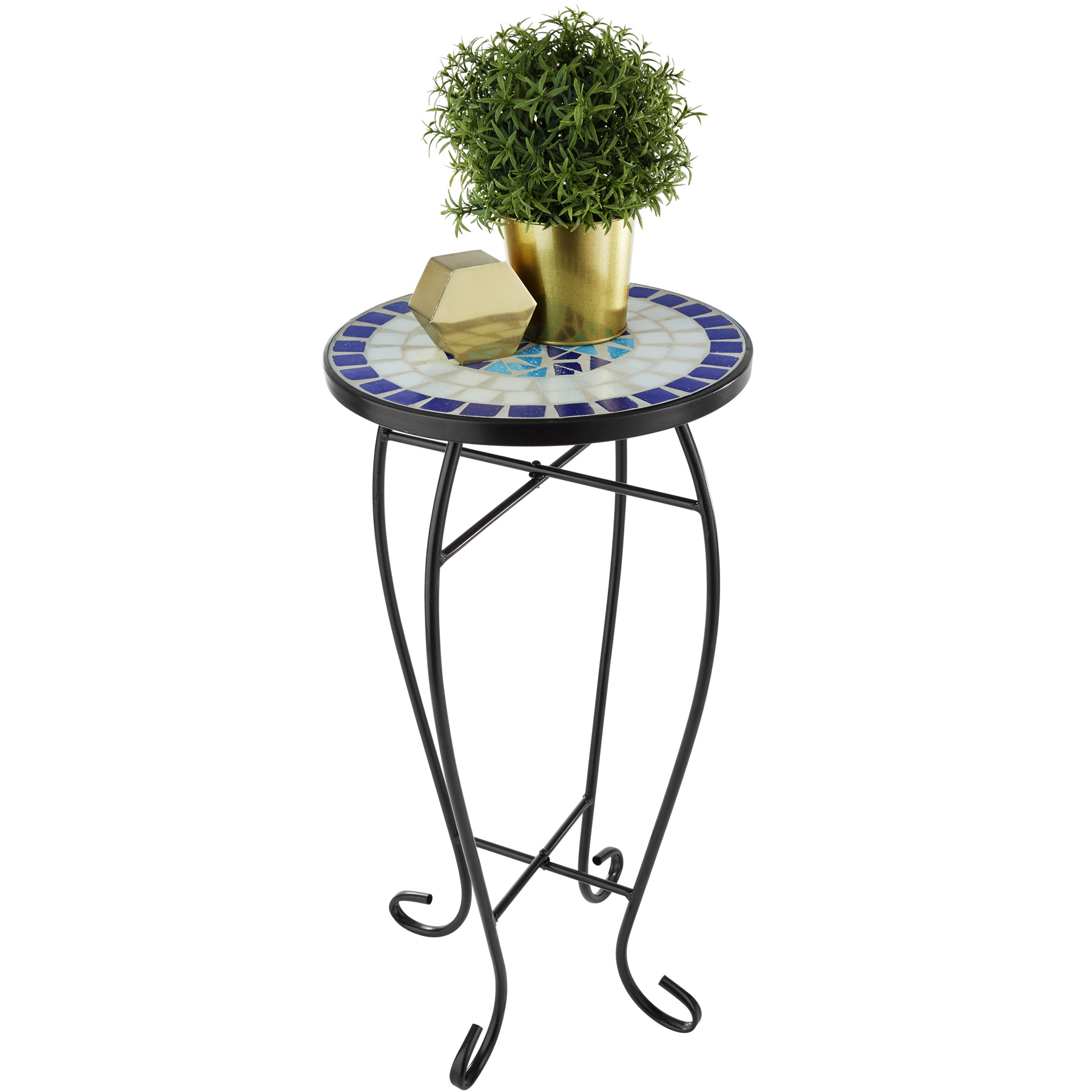 Konferenčný stolík, balkónový stôl, mozaikový kvetinový záhon 402769 Výrobca tectake