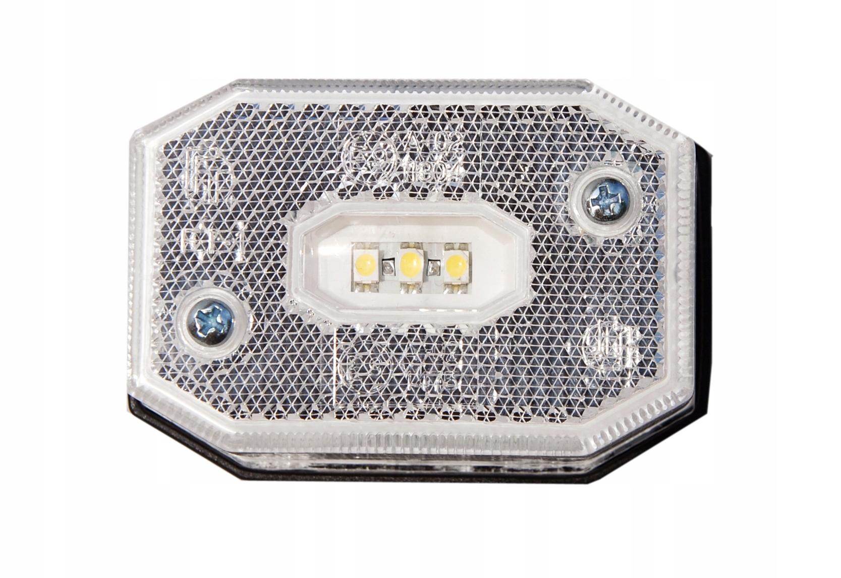 лампа габаритный мост белая led отблеск ft-001b